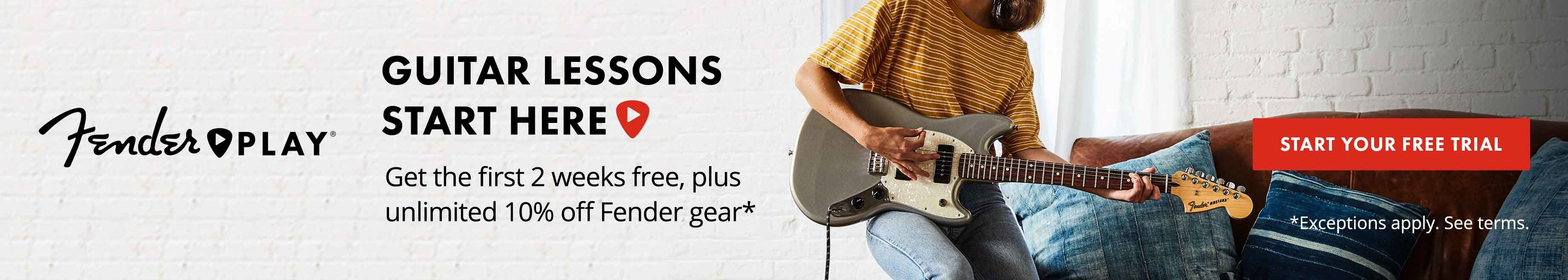 Step By Guide To Getting Started Playing Guitar 10 Beginner Faqs Electric Parts Diagram String Finger Numbering And Etc Looking For More Knowledge Check Out Our Ultimate Your New If Youre Ready Learn Sign Up A Free Trial Fender