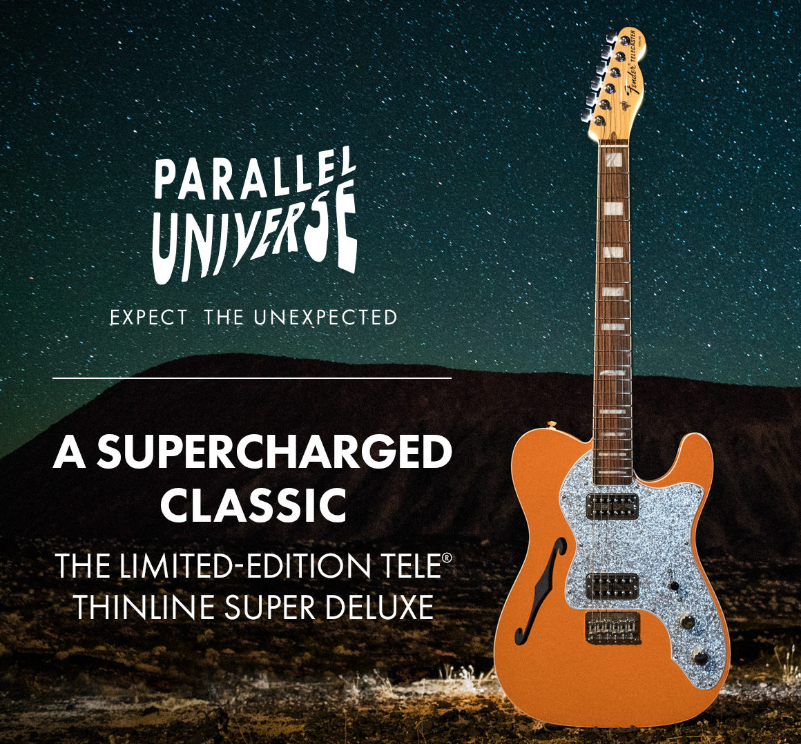 Parallel Universe. A super charged classic