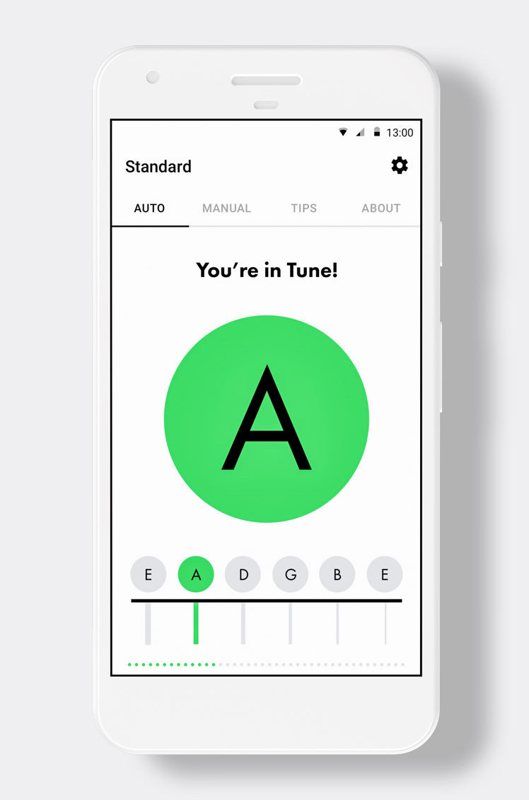 Acoustic Guitar Tuner Online | Tuning Acoustic | Fender