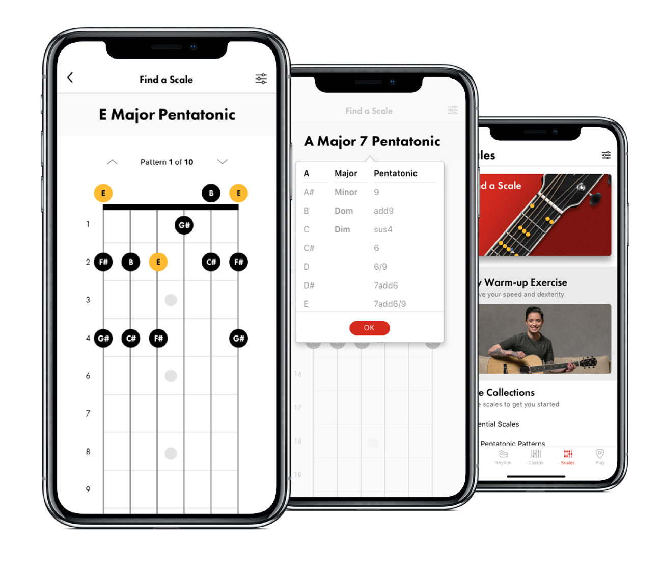 Fender Tune App for Guitar & Uke + Chords, Scales, Metronome