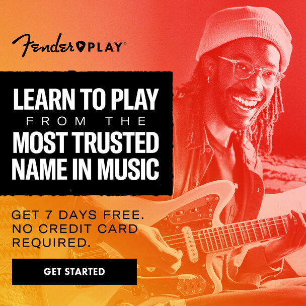 Fender Play. Learn to play from the most trusted name in music. Get 7 days free. No credit card required. Get Started.