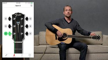 guitar tuner fender 39 s online guitar tuner fender guitar. Black Bedroom Furniture Sets. Home Design Ideas