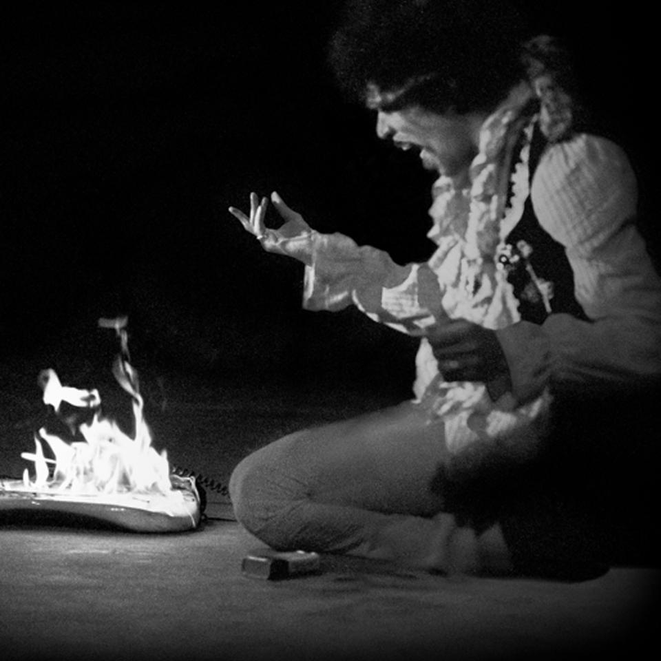 Jimi Hendrix Monterey Stratocaster