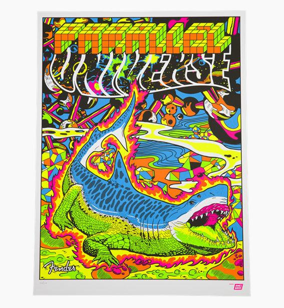 Strat-Tele Poster