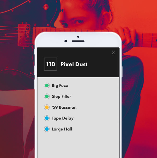 Tone App Amp Controller by Fender