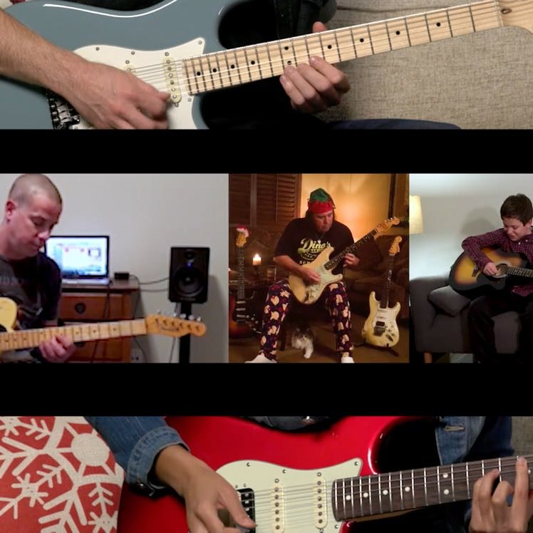Play Christmas Songs Holiday Classics On Guitar Fender
